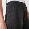 Cotton-Cashmere Rib Jogger