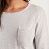 Ribbed Pocket Sweater