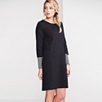Rib Jersey Pocket Dress