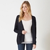 Linen-Rich Pocket Cardigan