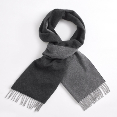 Reversible Wool & Cashmere Scarf