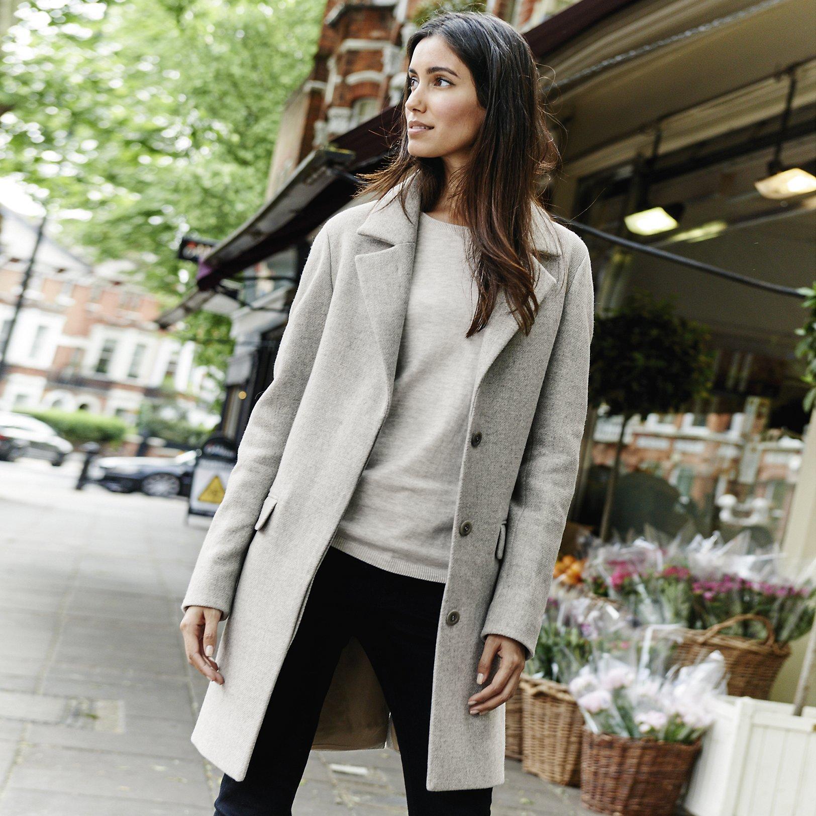 Revere Coat | Clothing | The White Company US