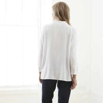 Rectangle Shirt  - White