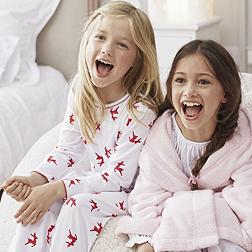 Reindeer Print Pyjamas - White