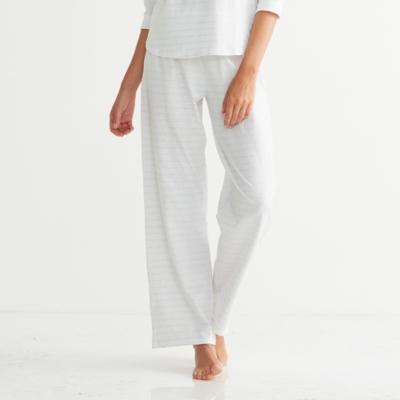 Raglan Stripe Jersey Pajama Bottoms