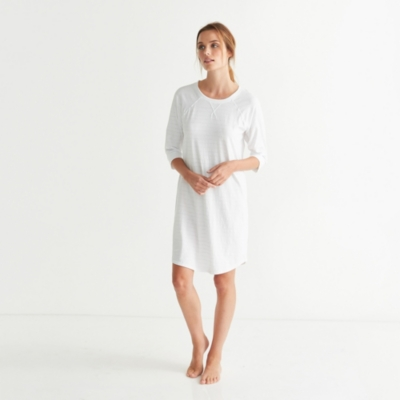 Raglan Stripe Nightgown