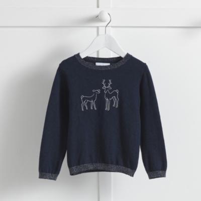 Reindeer Sparkle Sweater