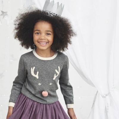 Reindeer Face Sweater