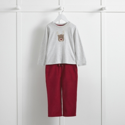 Reindeer T-shirt and Pants Set (1-6yrs)