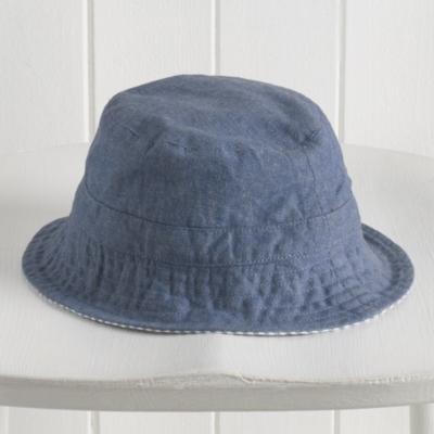 Reversible Chambray Hat