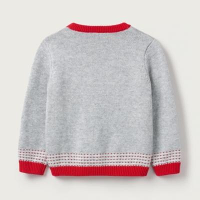 Jingles Reindeer Face Sweater