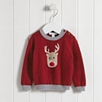 Reindeer Motif Sweater