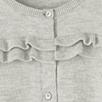 Ruffle Front Cardigan