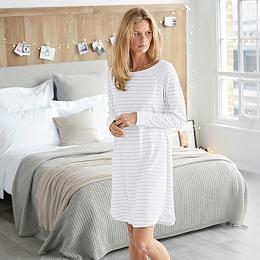 Raglan Stripe Night Gown