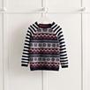 Raglan Sleeve Fairisle Sweater