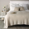 Cashmere Rib Square Cushion Cover - Natural