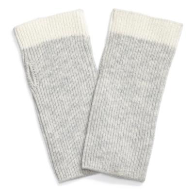 Rib Color Block Cuffs
