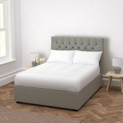 Richmond Grey Cotton Bed