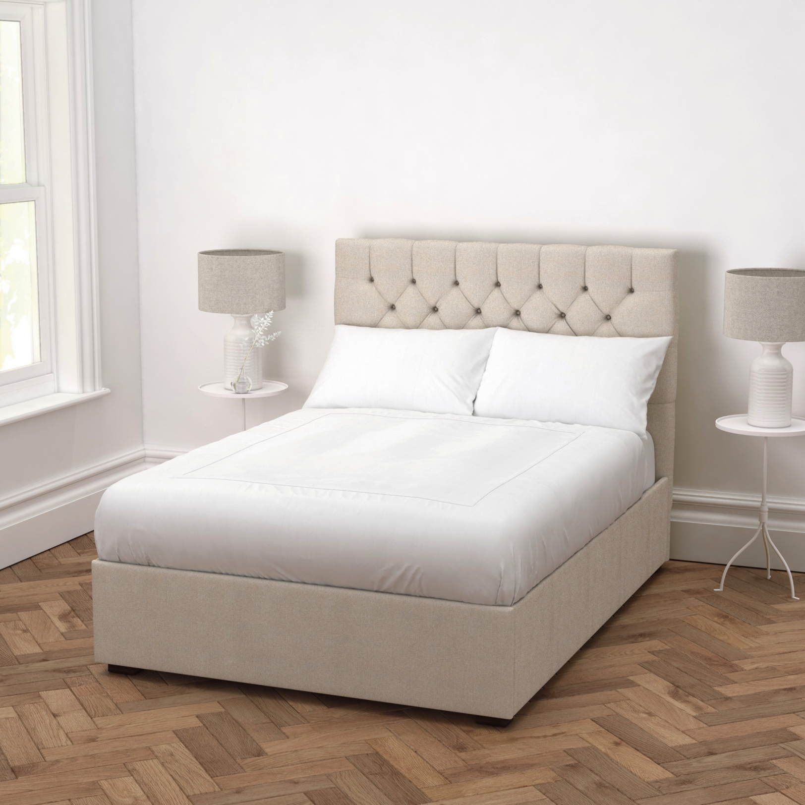 Bed Pictures beds | metal, wooden & upholstered | the white company uk