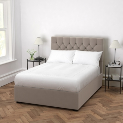 Richmond Velvet Bed | Beds | The White Company UK