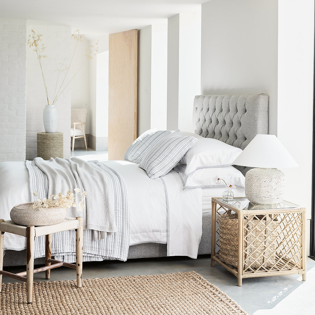 Richmond Wool Bed | Beds | The White Company UK