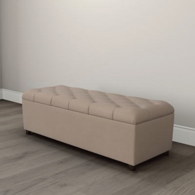 Richmond Velvet Ottoman  - 2 Colours