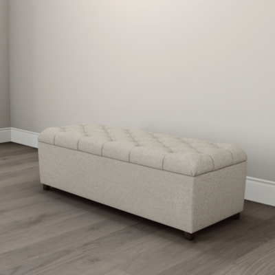 Richmond Wool Ottoman