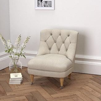 Richmond Linen Union Tub Chair