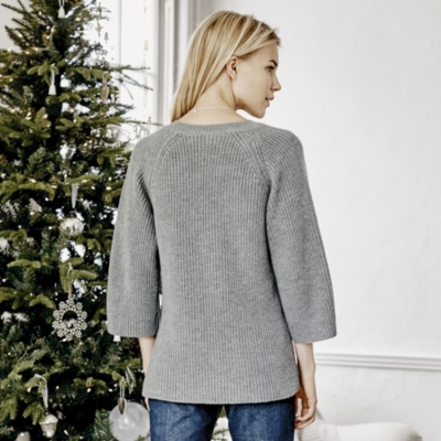 Rib Knitted Sweater