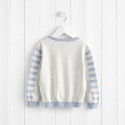 Rocket Motif Sweater (1-5yrs)