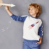 Rocket Motif Sweater (4-10yrs)