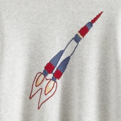 Rocket Motif Sweater (4-10yrs)