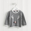 Reindeer Face Sweater