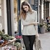 Cashmere Roll-Neck Long Sweater