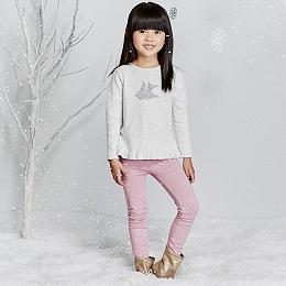 Robin Motif Sweater & Leggings Set