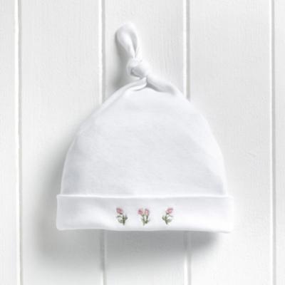 Rosebud Knot Hat