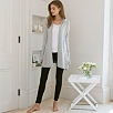 Rib Pocket Hooded Cardi