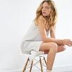 Rosebud Print Jersey Nightgown