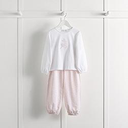 Reindeer Pink Motif Pyjamas