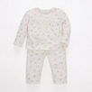 Rose Dot Pintuck Pajamas - Tutu Pink