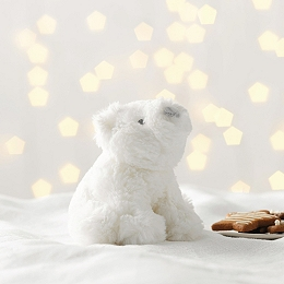 Mini Lumi Polar Bear Toy