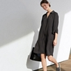 Relaxed Shirt Dress