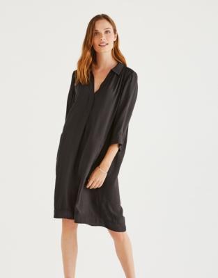 Relaxed Shirt Dress