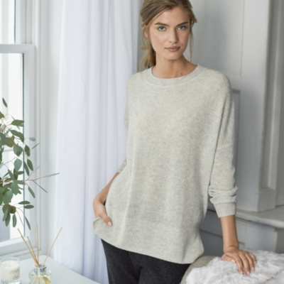 Ribbed Slouchy Sweater