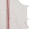Red Stripe Apron Adult