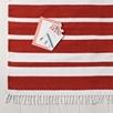 Red Stripe Rug