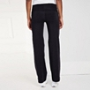 Roll Top Pants - Black
