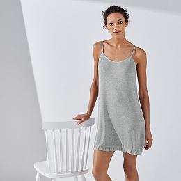 Ruffle Trim Nightgown