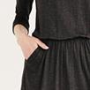 Ruched Waist Jersey Dress