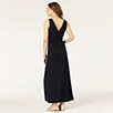 Ruched Jersey Maxi Dress - Navy